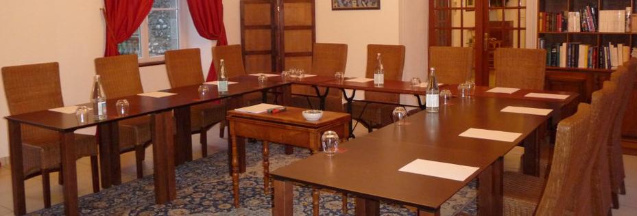 salle de réunion château de la Ferrièrte